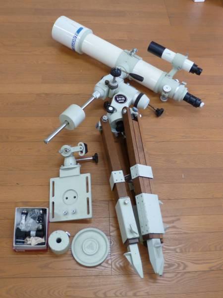 タカハシ 天体望遠鏡 EM-1S フローライト FC-100 D=100mm f=800mm