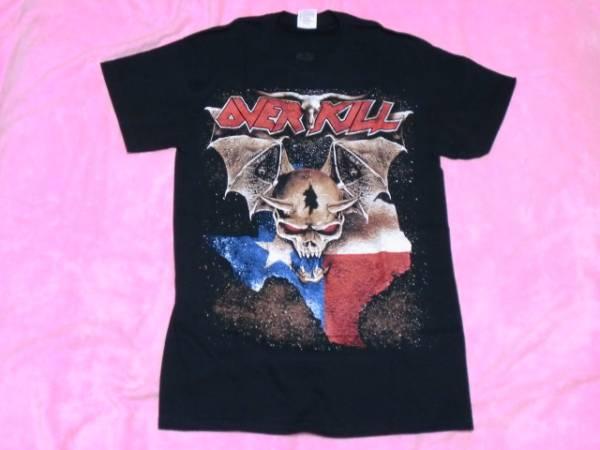 OVERKILL オーヴァーキル Tシャツ S バンドT ロックT ツアーT Metallica Anthrax Megadeth Slayer Voivod ライブグッズの画像