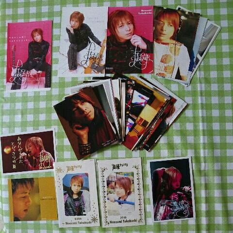 高橋直純 テレホンカード2枚、生写真(サイン入り有)、ポストカード 数十点