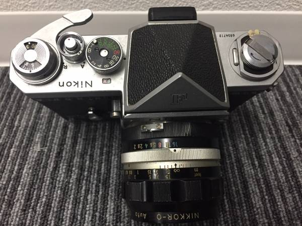 【29】 ニコン Nikon F レンズ付 6834712 中古 カメラ_画像2