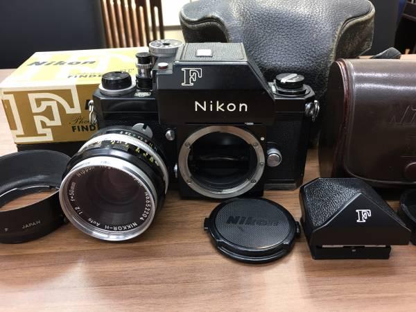 【690】ニコン Nikon F フォトミックファインダー レンズ付き