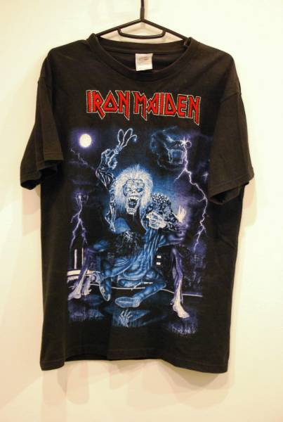iron maiden バンドtシャツ 古着 90s metallica slayer