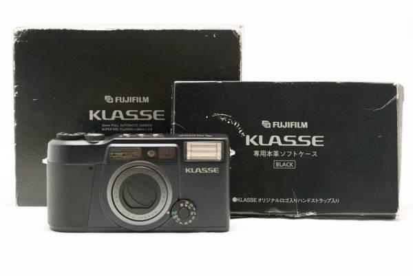 希少ブラック ★ 銘機 ★極上美品★ フジフィルム FUJIFILM KLASSE クラッセ Professional SUPER EBC FUJINON 38mm F2.6 ★完動★