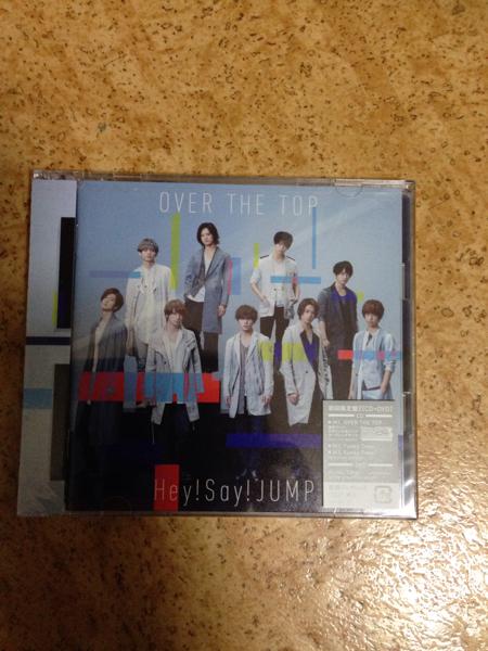 Hey! Say! JUMP OVER THE TOP 初回限定盤2 (CD+DVD) 新品未開封 定価