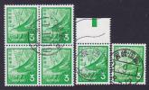 ホトトギス3円切手に 満月印 いろいろ 3点!