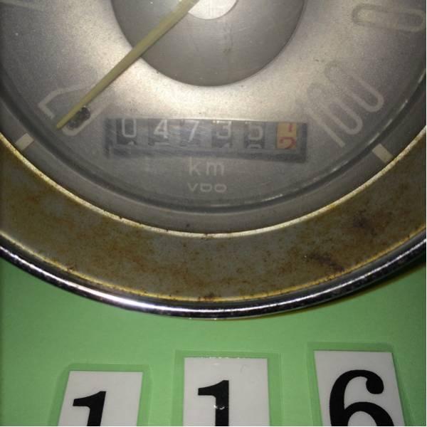 *空冷 VW タイプ3 純正 km 表示 メーター_画像2