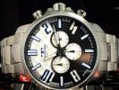 TECHNOS テクノス正規品クロノグラフ腕時計ビックフェイス