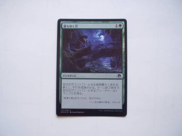 MTG 満ちゆく月/Waxing Moon foil 日本語1枚_画像1