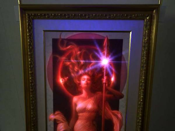 20【S.R】アール・グラージュ 「プロミネンス」 91×34 長野剛 絵画 香川発_画像3