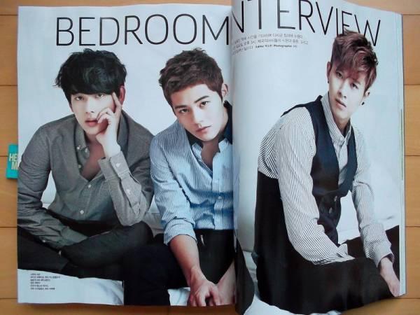 [ZE:A ゼア]韓国雑誌切り抜き 10P/2012年10月号 コンサートグッズの画像