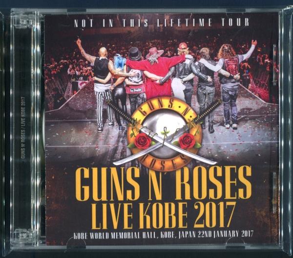 Guns N' Roses 2CD / Live Kobe 2017 ガンズ・アンド・ローゼズ