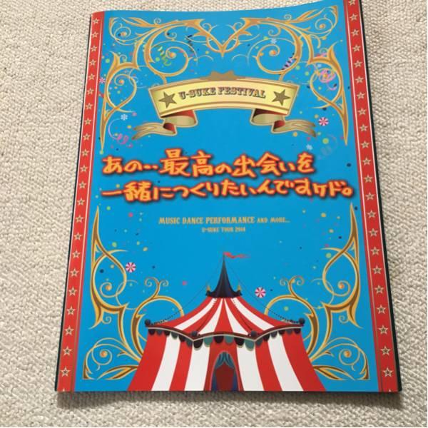 遊助ツアー2014パンフレット ライブグッズの画像