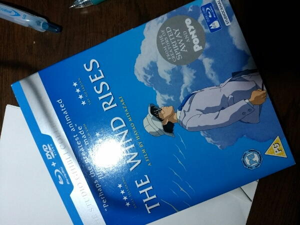 風立ちぬ 英語版 bd dvd 宮崎駿 ジブリ グッズの画像