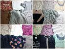 レディース 半袖カットソー Tシャツ 福袋78枚セットまとめ売り古着卸*0222