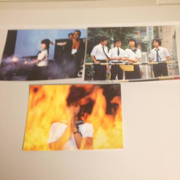「セーラー服と機関銃」5枚+「薬師丸ひろ子」5枚 計10枚ポストカードセット コンサートグッズの画像