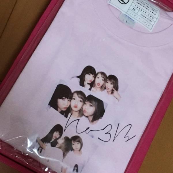 AKB48 小嶋陽菜 homies/限定ピンクver no3b ノースリーブス 絆Tシャツ Lサイズ