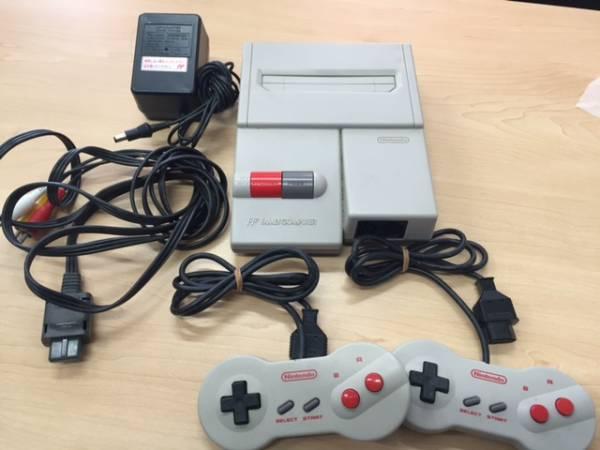 動作未確認 Nintendo ファミリーコンピュータ HVC-101 本体 付属有_画像1