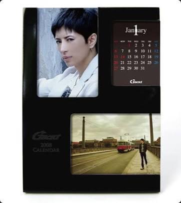Gackt 2008 卓上カレンダー