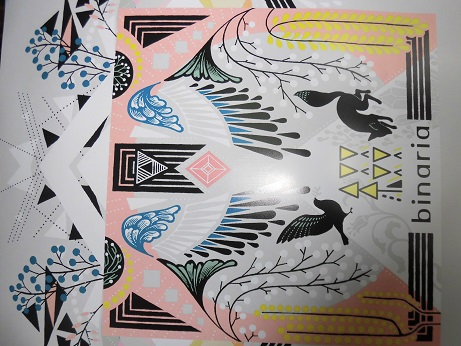 binaria 綴り 新品 B2サイズ ポスター
