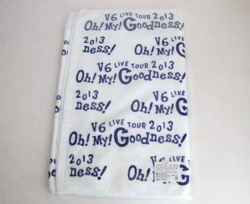 【送料無料】V6 公式グッズ V6 LIVE TOUR 2013 Oh! My! Goodness! フェイスタオル