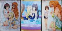 この美術部には問題がある ピンナップポスター 宇佐美みずき コレット 立花夢子 スク水ビキニ水着アニメ