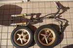 ディオ ZX AF35 ゴールド フロント フォーク ホイール前後 ステム ハンドル ブレーキ モトコンポ ジャイロ ズーマー