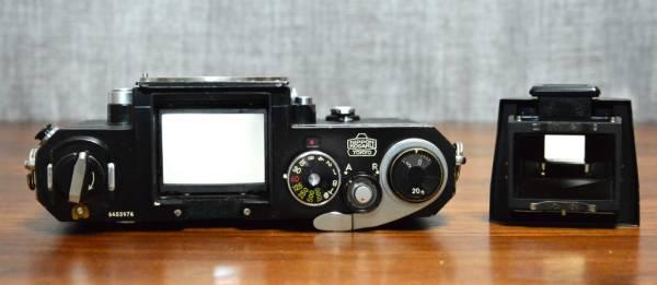 ★ニコンF 前期型 アイレベル・ブラック 「AR-1」「アイカップアダプター」ほか付属品付き_画像3