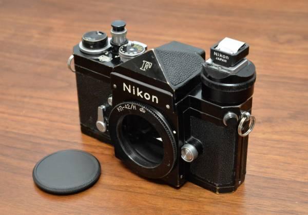 ★ニコンF 前期型 アイレベル・ブラック 「AR-1」「アイカップアダプター」ほか付属品付き