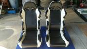 セミバケ リクライニングシート 2脚 左右セット