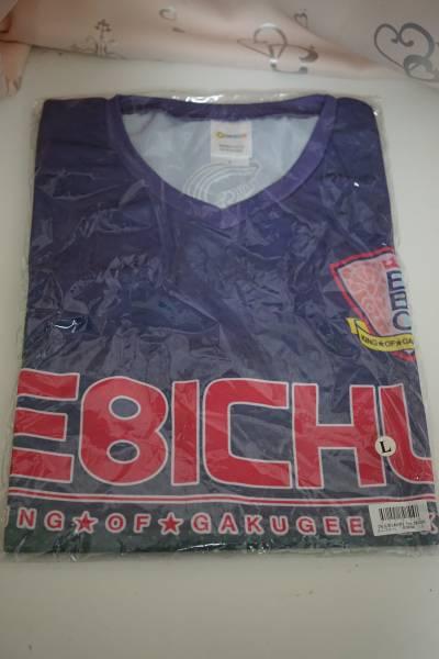 【美品】私立恵比寿中学 松野莉奈 ユニフォーム Tシャツ Lサイズ エビ中 りななん Team EBICHU RINANAN ライブグッズの画像