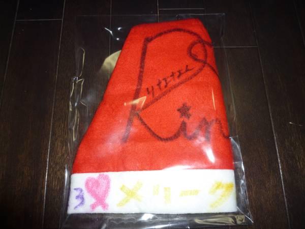 私立恵比寿中学 松野莉奈 着用 直筆サイン メッセージ入りサンタ帽 エビ中 りななん ライブグッズの画像