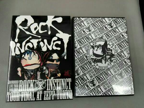 "GRANRODEO LIVE TOUR 2008-2009""ROCK INSTINCTLIVE DVD ライブグッズの画像"