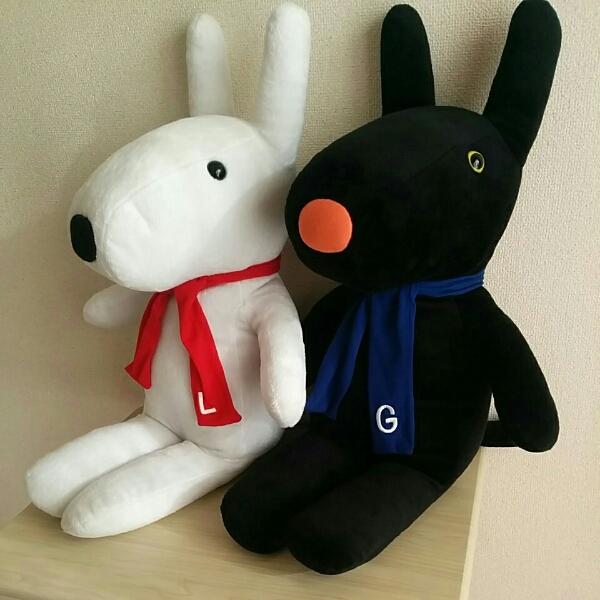 リサとガスパール 67cm ぬいぐるみ 人形 グッズの画像