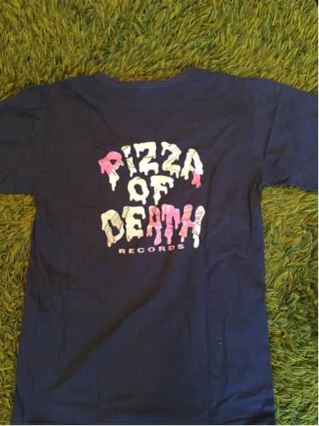 KEN YOKOYAMA Tシャツ PIZZA OF DEATH BESTWISHES 横山健 ハイスタ ライブグッズの画像
