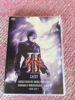 GACKT DVD RRⅡ ライブグッズの画像