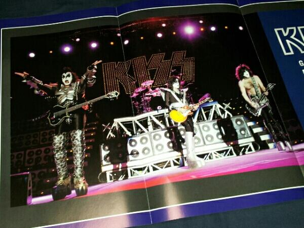 KISS★キッス★プレイヤー2008(53×30cm)折り込みポスター★