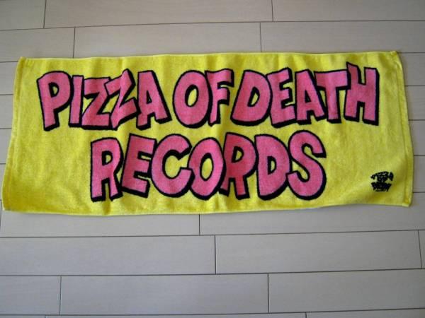 PIZZA OF DEATH*フェイスタオル*KEN YOKOYAMA*WANIMA ライブグッズの画像
