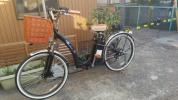 フル装備 26型 アクセル付 フル電動自転車 アシストorフル電動切り替え付き!NewLaLa-GTR26(MB)