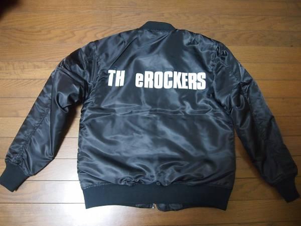 希少 新品 TH eROCKERS ザ・ロッカーズ MA-1 バッチ バック 陣内孝則