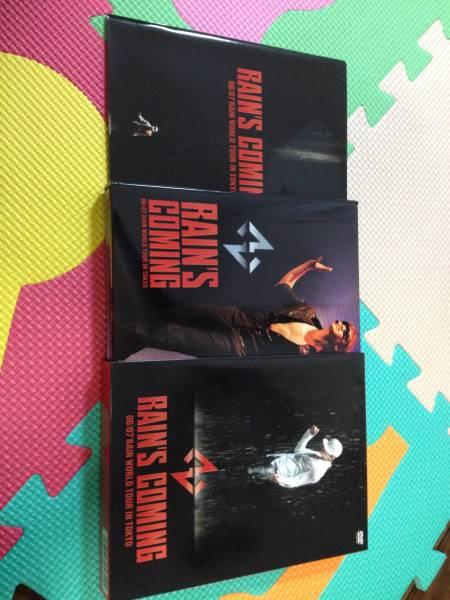 洋楽 DVD RAIN'S COMING 06/07 RAIN WORLD TOUR IN TOKYO 初回限定特殊パッケージ 定価9800円 東京ドーム 韓国 ライブ live