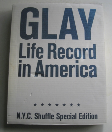 GLAY写真集 Life record in America N.Y.C.shuffle special edition 送料無料