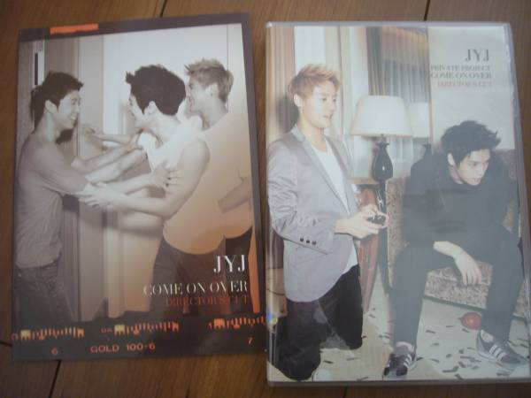 JYJ PRIVATE PROJECT COME ON OVER DIRECTOR'S CUT DVD 写真集付 ジェジュン ユチョン ジュンス 東方神起