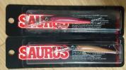 ⑰【デッドストック】 ザウルス レックス ディープ 7cm 2個SET SAURUS Rex-Deep 新品