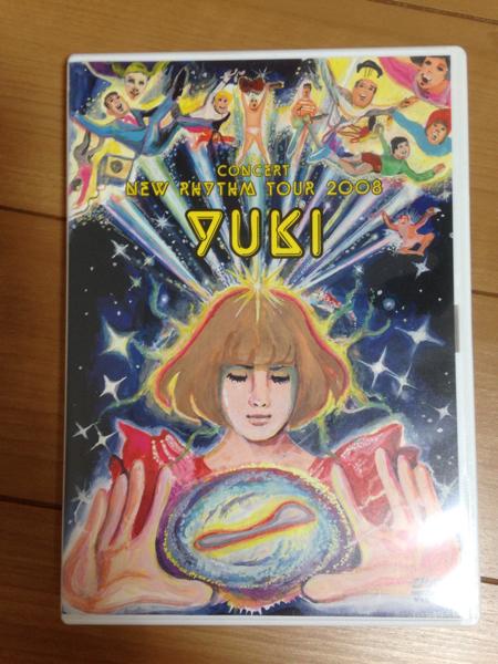 【美品】YUKI / concert New Rhythm Tour 2008 DVD 2枚組 ライブグッズの画像