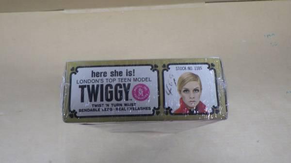 古い ツィッギーTwiggy マテル製 箱付 ツィギー 1967年 未使用未開封デットストック品_画像3