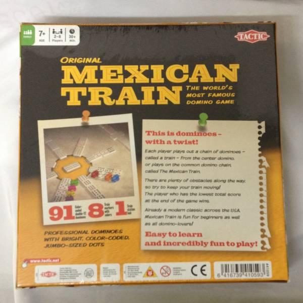 メキシカントレイン Mexican Train ボードゲーム ドミノ_画像2