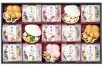 ■京洛■辻が花■京野菜 ■お吸い物最中■詰め合わせ■花点心■