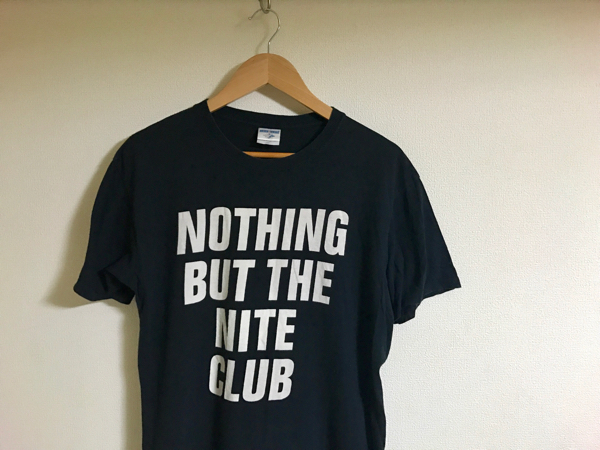 レア NOTHING BUT THE NITE CLUB Tシャツ KONCOS RIDDIM SAUNTER harvard CUBISMO GRAFICO FBY LEARNERS 好きに