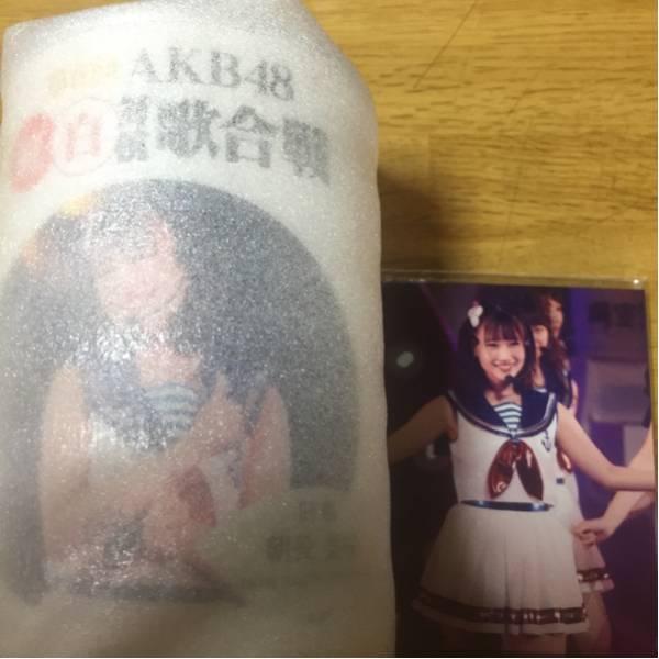 神の手 HKT48 紅白対抗歌合戦 場空缶 朝長美桜 生写真付 新品未開封