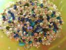 美甲用品 - ソーダキャンディ★500粒mix★きらきらキレイ!ビジューネイルアート#ジェルネイル#ラインストーン#スワロフスキー#レジン#詰め合わせ